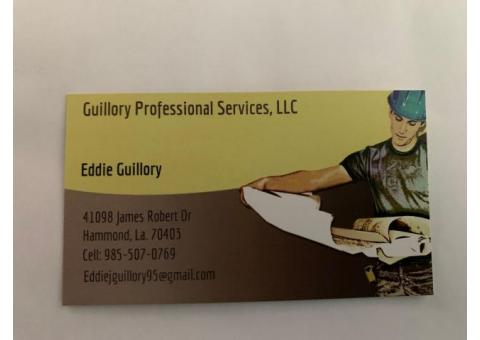 Guillory Professional Services, LLC